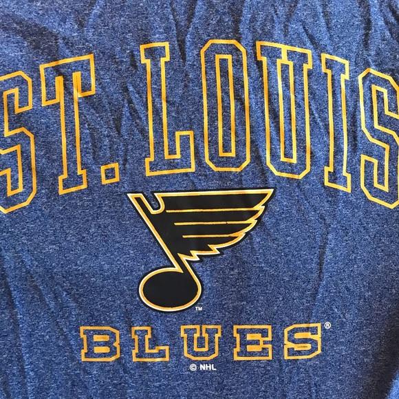 the best attitude 25727 3a9ae St. Louis blues T-shirt NHL NWT